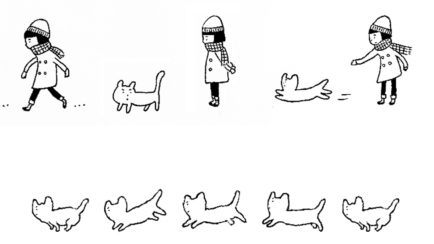 映画『私は猫ストーカー』<br>アニメーションパート<br>2009